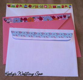 Washi envelope