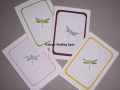 Dragonfly notecards