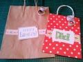 Washi tape paper bags