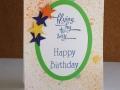Flying by - Happy birthday