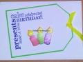 Presents cake celebrate