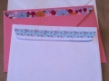 Washi tape envelopes